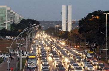 Trânsito Brasília - Arquivo CNT