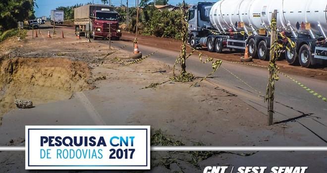 Pesquisa CNT de Rodovias 2017